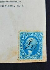 George Washington 2 cent Playing Cards US Inter. Rev. Blue US Postage Stamp