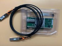 INTEL 82599ES X520-DA1 E10G41BTDA 10G SFP Ethernet Server Adapter + 3M SFP Cable