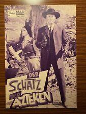 Neues Film-Programm Nr 3889:Der Schatz der Azteken (Karl May)