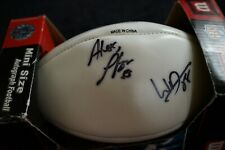 Wilson Nfl mini size autographed football in box never used