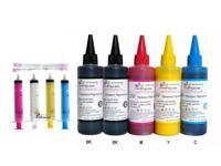 5x100ml Pigment Refill Ink for Epson nonOEM WF-3620 WF-3640 WF-7110 WF-7610 T252