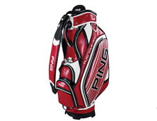 Ping 2020 Sporty Ge Men's Caddy Bag 9.5in 10lbs Pu Free Ems Red/Black