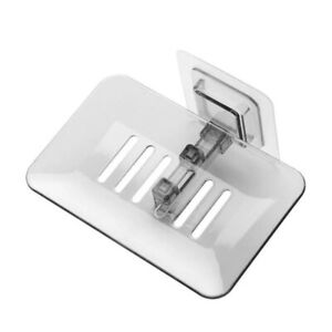 1PC Wall-mounted Bathroom Shower Crystal Soap Holder/Case/Plate