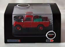 Oxford Diecast 76LAN2004 Land Rover Series II Fire Appliance Red 00 1/76 Scale