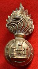 British Army. Royal Inniskilling Fusilier's Genuine OR's Fur Skin Cap Badge