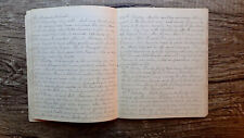 Circa 1870 Handwritten Diary Young Woman Lives At An Inn Hires Irish Labor 48pp