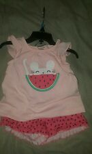 Girl's Gymboree mouse with watermelon 2 piece set sz 18-24 months Nwt (Last One)