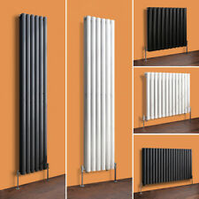 Vertical Horizontal Designer Bathroom Oval Column Radiator White Anthracite Rad