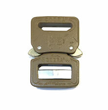 "AustriAlpin 25mm / 1"" Coyote Brown Cobra Buckle - Male Adjust Fem Fixed FC25CVF"