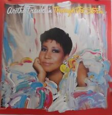 Aretha Franklin | Through the Storm | Orig. 1989 Promo Poster | Art by Peter Max