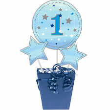 3 Twinkle Little Star Boy's Birthday Party Table Centerpiece Decoration Sticks