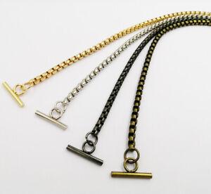 NewS Women Crossbody OT Metal Chain For Handbag Shoulder Bag Tote Strap DIY #C9