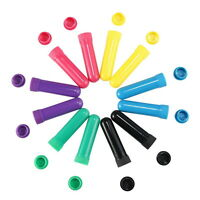12X Blank Nasal Inhaler Tubes Empty Complete Stick EssentialOil Aromatherapy E99