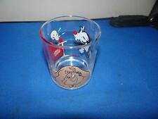 Nutella Sylvester & Tweety Pie Glass From 1997