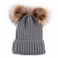 Mom& Kids Toddler Girl&Boy Baby Infant Winter Warm Crochet Knit Hat Beanie Cap