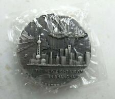 2010 China One Kilo Gram Silver (100mm) Medal - The New Eight Views in Shanghai