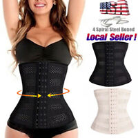 Women Waist Trainer Corset Cincher Body Shaper Hot Weight Loss Fat Burner Girdle