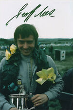 Geoff Lees, F1 driver, Tyrrell, Ensign, Shadow, Lotus, signed 6x4 inch photo.