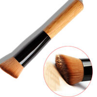 Foundation Face Flat Angled Blush Kabuki Powder Contour Makeup Brush Cosmetic