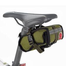 Roswheel Canvas Cycling Bicycle Bike Saddle Back Rear seat Tail Bag Pouch Sports