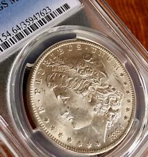 1884-O MS64 Morgan Silver Dollar Near Perfect! Breast Feathers Detail