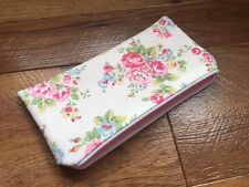 Fabric Pencil / Make-Up / Glasses Case Handmade With Cath Kidston Spray Flowers