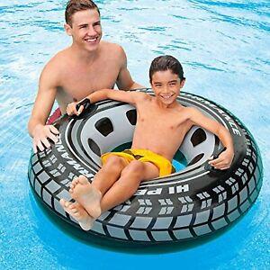 "Intex Monster Truck Swim Tube, 45"" Diameter, for Ages 9+~Pool Float~Toy~DISCOUNT"