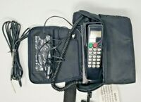 Vintage Car Cellular Phone In Bag Novatel UNTESTED 1980s Powers ON