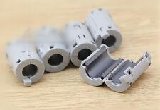 5x gray TDK 11mm Cable Clamp Clip RFI EMI EMC Noise Filters Ferrite Core