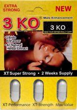 3KO Male Sexual Enhancement For Men Natural Herbal Extract 15 Pills(5 cartridge)