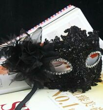 Girl Women Black Lace Eye Face Parti Mask  Ball Prom Halloween Costume Party