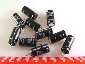 Nippon Chemi-Con Electrolytic Capacitor 100uF 40v CE04W 85' 10 pieces OL0153b