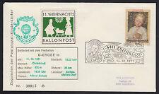 Österreich Weihnachts-Ballonpost Mi.Nr. 11 b Brief Mi.Wert 50€ (6491)