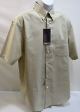 ROUNDTREE & YORKE TRAVEL SMART SHORT SLEEVES SHIRTS SZ LG *NEW* WITH TAG