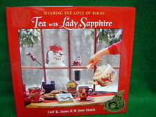 Tea with Lady Sapphire Hardcover Winter Book by Sams and Stoick Store New