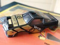 Vintage Rough Rider Stomper Black Vette Corvette Race Car #83 Unbroken