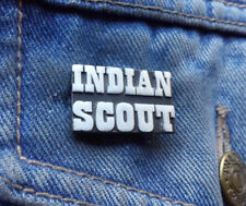 Indian Scout Pewter Pin Badge