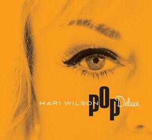 MARI WILSON Pop Deluxe (2016) 13-track digipak CD album NEW/SEALED