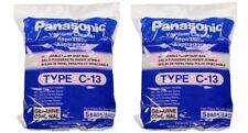 PANASONIC 10 Genuine bags for Vacuum TYPE C-13, C13  MODEL MC3900, MC-3900