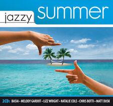 = JAZZY SUMMER / Basia,Melody Gardot,lizz wright,N.Cole,Chris Botti /sealed 2 CD