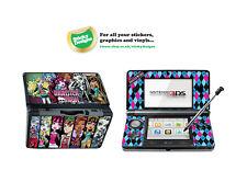 MONSTER High in Vinile Adesivo della pelle per Nintendo 3ds