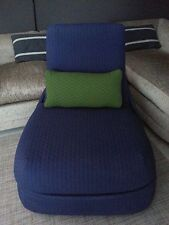 HOSU Coalesse Lounge Chair & Ottoman by STEELCASE in Blue / Navy - NJ NY PICKUP