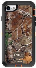 Oem Otterbox Rugged Defender Case & Holster For Apple iPhone 7, 8, Orange Camo
