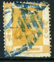 China 1864 Hong Kong 8¢ Bright Orange QV Wmk CCC SG #11b Yokohama Japan J586 ⭐⭐⭐
