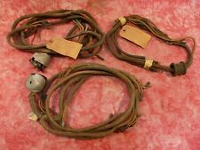 3- 1938 Ford nos wiring harness, headlight,tailight cowl hot rat rod flathead