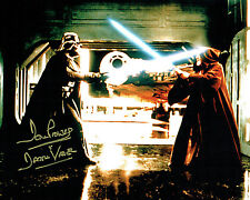 Dave PROWSE SIGNED Autograph Darth VADER Star Wars 10x8 Photo D AFTAL COA
