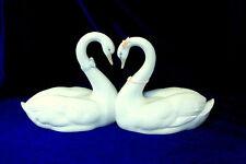 LLADRO #6585 ENDLESS LOVE KISSING SWANS BRAND NEW IN BOX BRIDAL HEART WEDDING FS