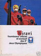 Publicité Advertising 096 1967 Kiravi des vins bien choisis