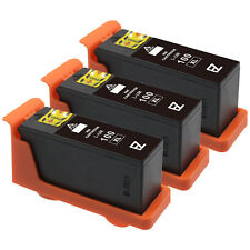 3 Pack 100XL 100 XL 14N1068 High Yield Black Ink Cartridges for Lexmark Printers