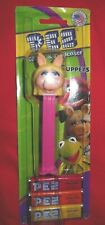 Miss Piggy Pez Container with feet 3 Packs Pez Candy Nib Nip Pink Muppets Inc.